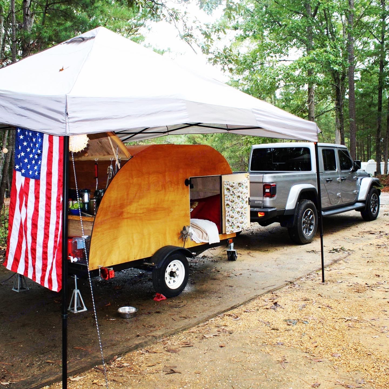 Custom Teardrop Camper 2014