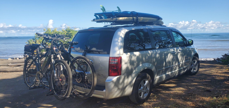 Bike rack.. Dodge Grand Caravan 2009