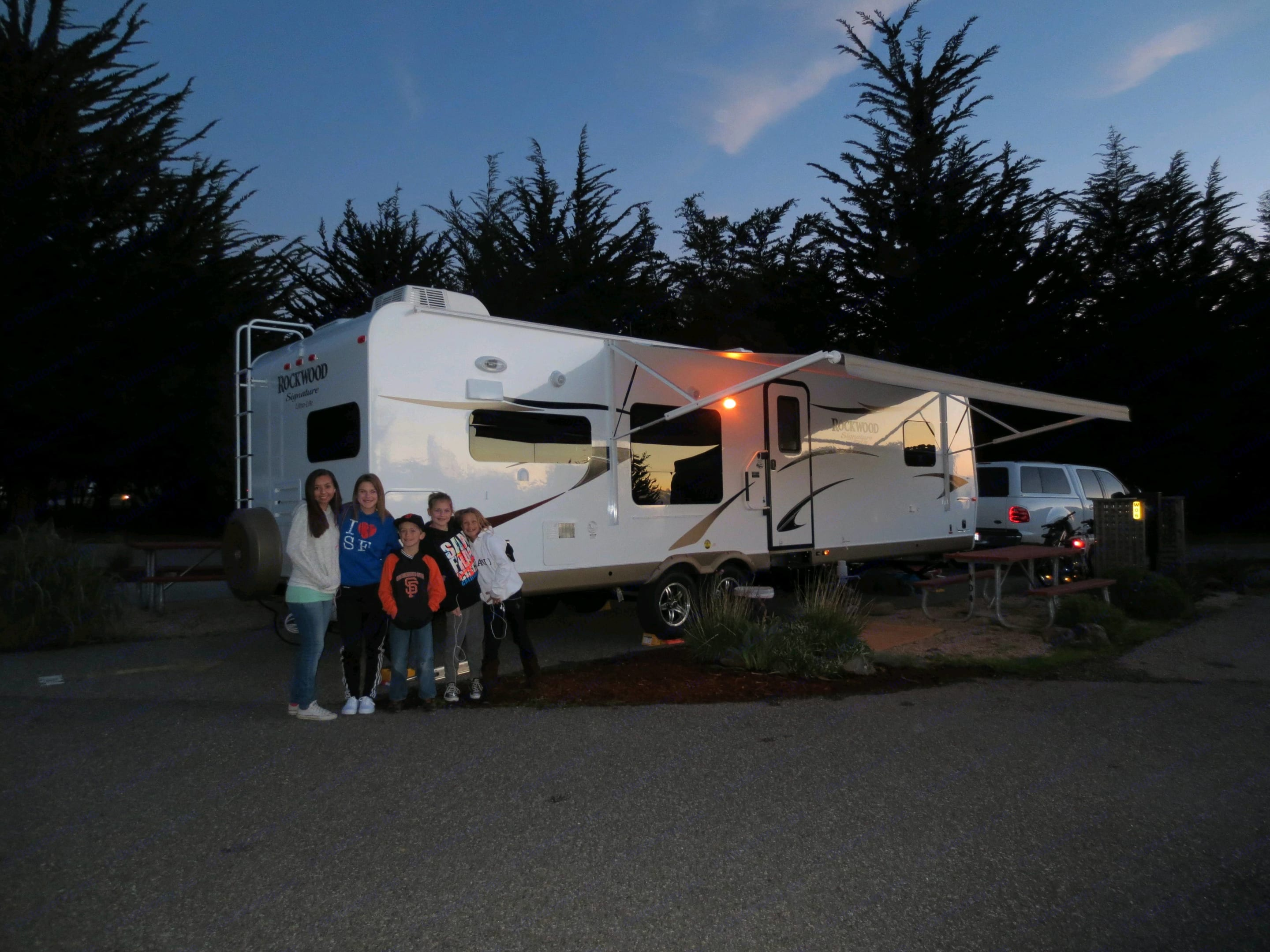 Great family times! . Forest River Rockwood Signature Ultra 2013