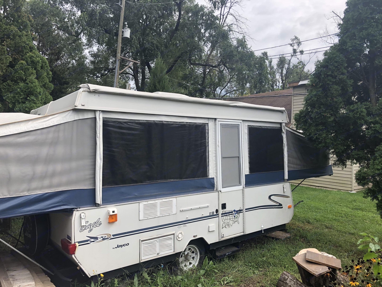 Camper set up. Jayco Eagle 2001