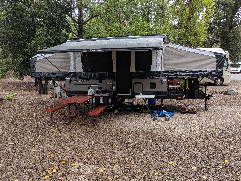 Pinezanita Campground - Julian, CA. Forest River Rockwood Freedom 2019