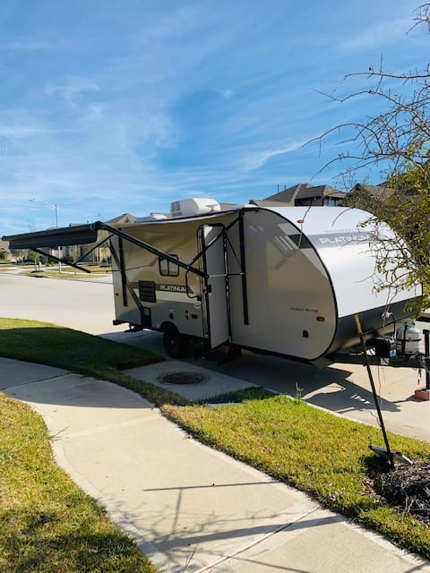 Enjoy this Camper anywhere whether its extra guest for the holidays or a weekend camping trip.. Forest River Wildwood 2019