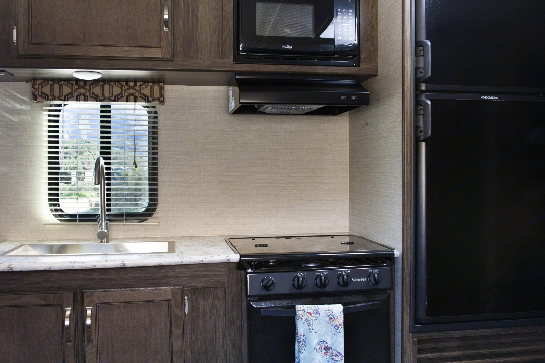 Kitchen sink. Keystone Bullet 2019