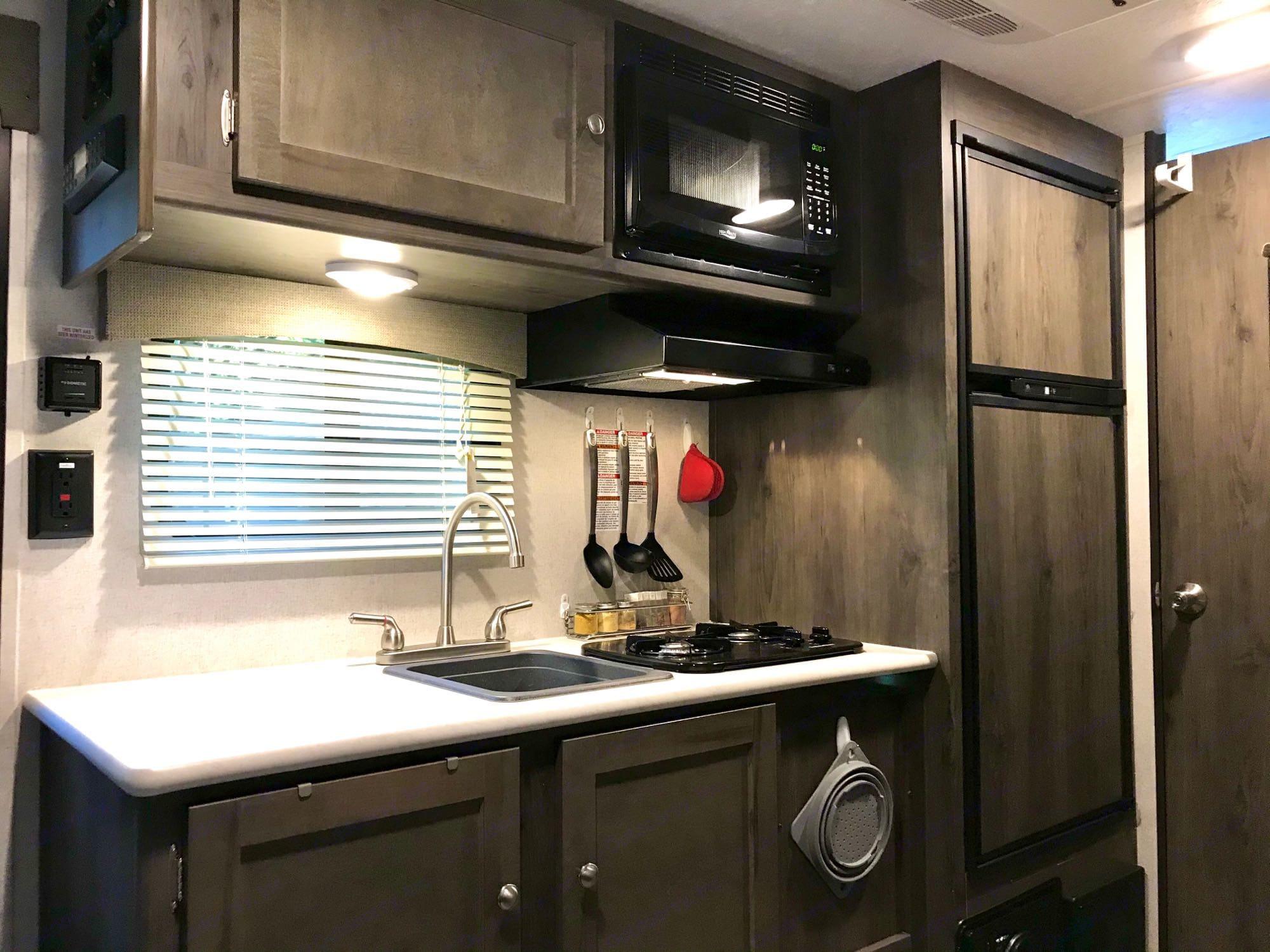 kitchen. Forest River Viking 2019