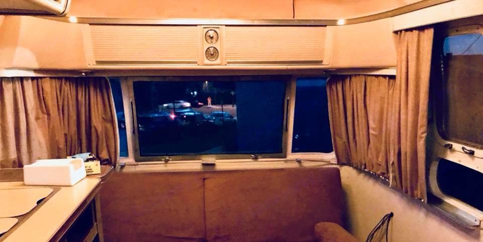 Front View  . Airstream Safari 1974