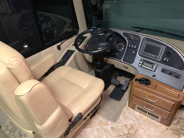 Driver's Seat. Monaco Camelot 2008