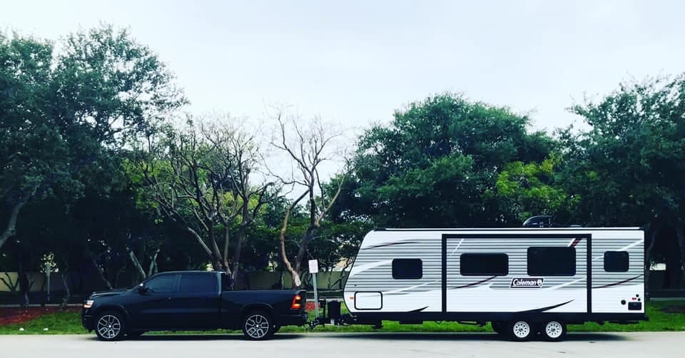 We transport our RV within a certain mile radius.  Contact us for details.   . Dutchmen Coleman 2019