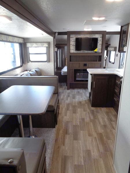Living room space. Forest River Salem Cruise Lite 2020