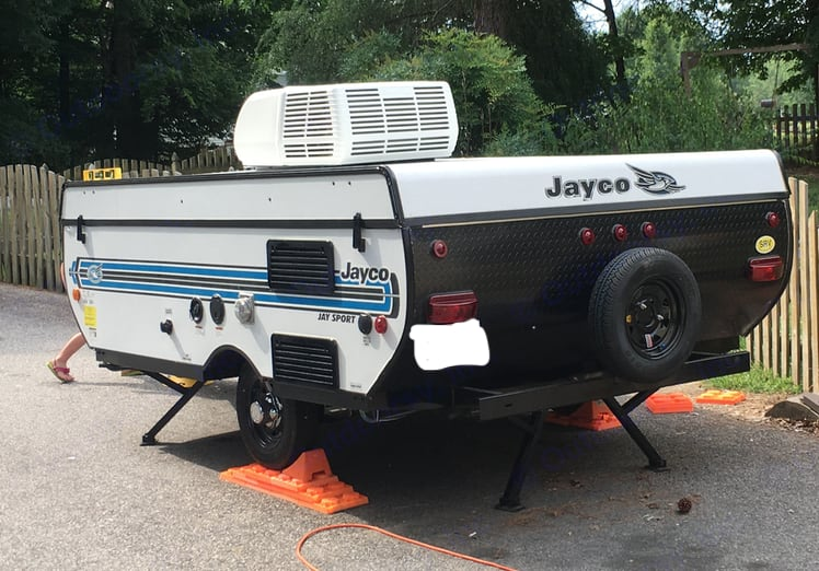 Closed and ready to hook and roll.. Jayco Jay Series 2017