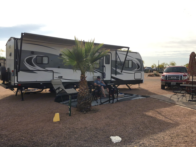 Apache Junction, AZ. Forest River Vibe 2018
