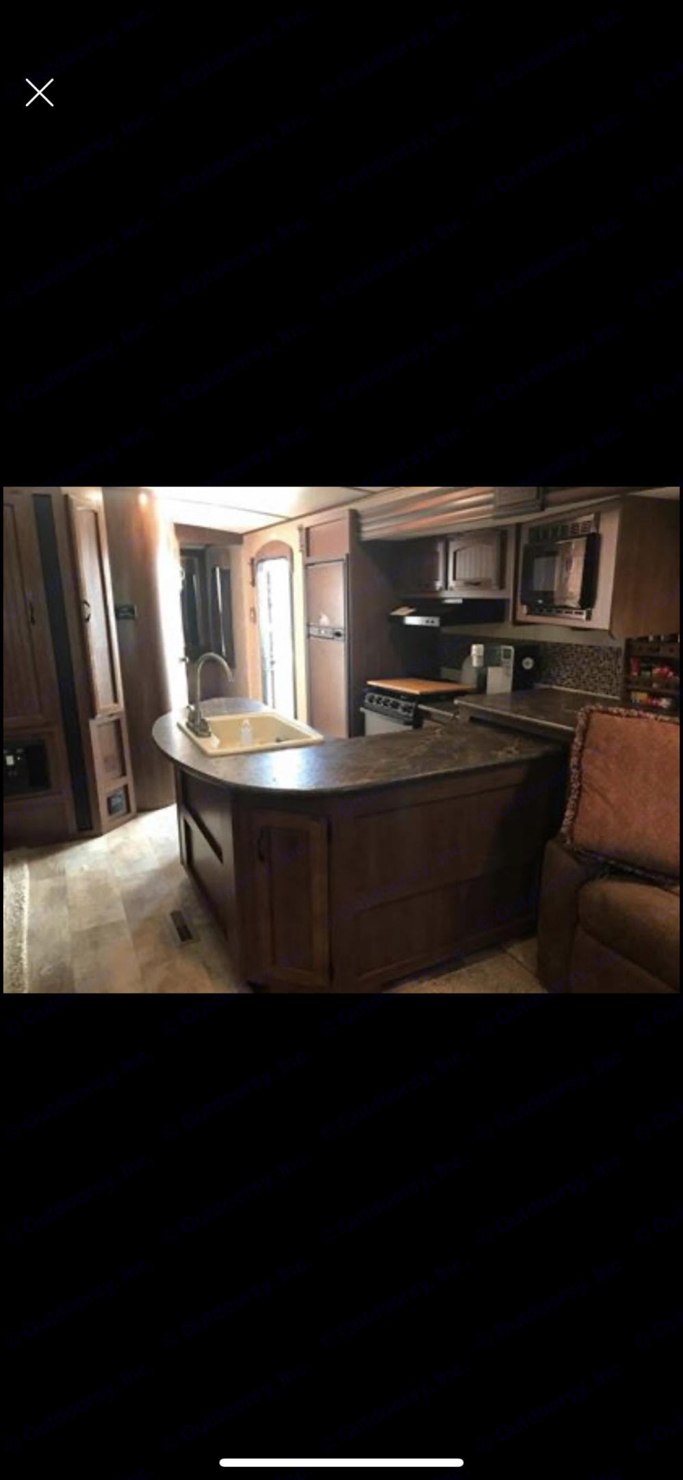 Island kitchen!. Jayco White Hawk 2015