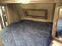 Master bed room. Coachmen Apex 2017