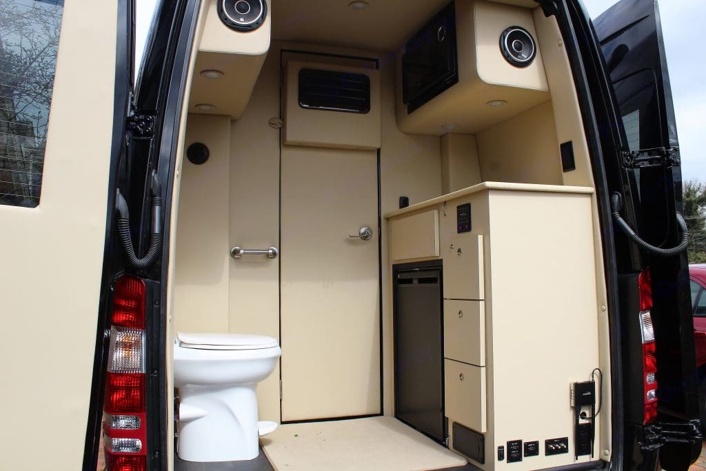 No more unscheduled stops or searching for a public restroom.. Mercedes Sprinter 2020