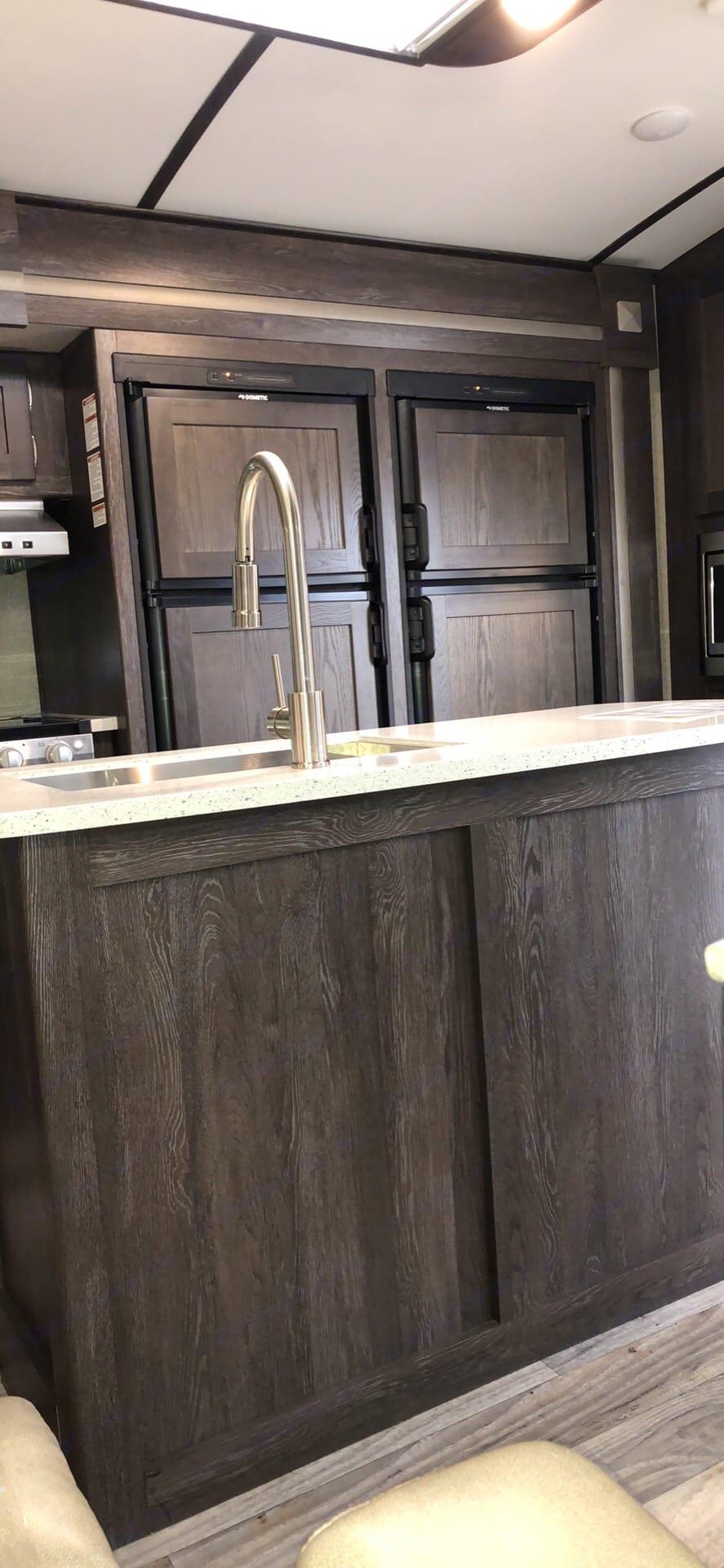 Camper has 2 refrigerators!. Keystone Outback 2019