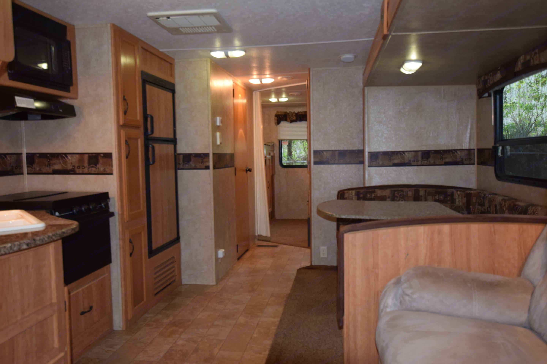 Living area 2. Keystone Sprinter 2010