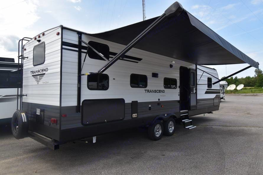 Outside with 20' Awning. Grand Design Other 2020