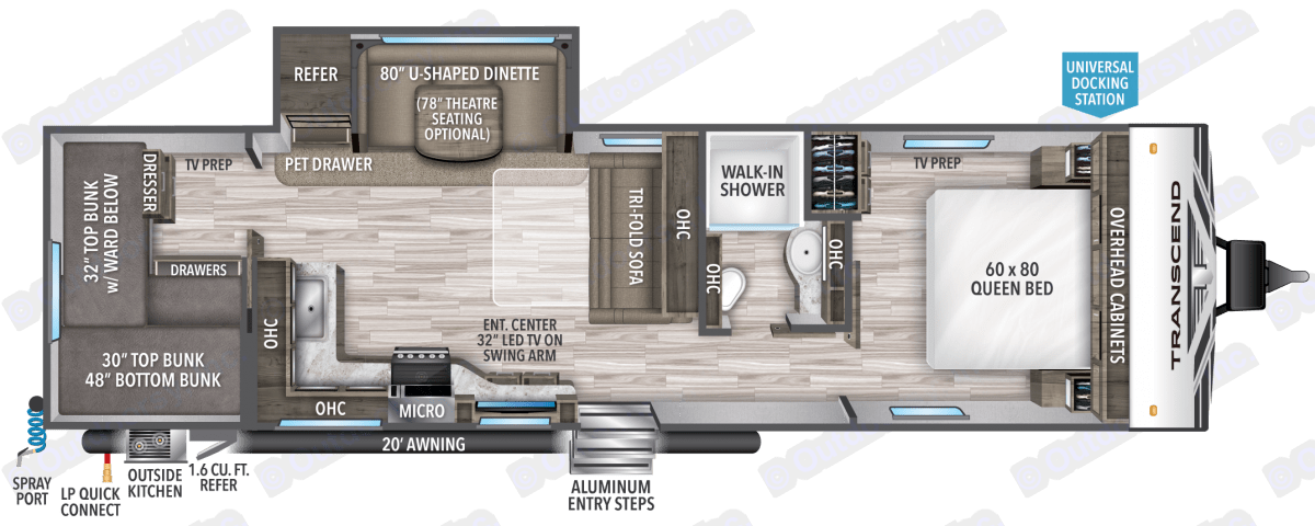 Floorplan. Grand Design Other 2020