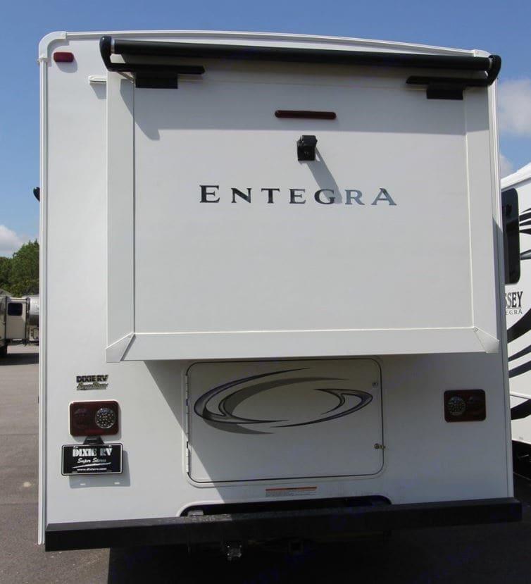 Rear Bedroom Slideout. Entegra Coach Odyssey 2020