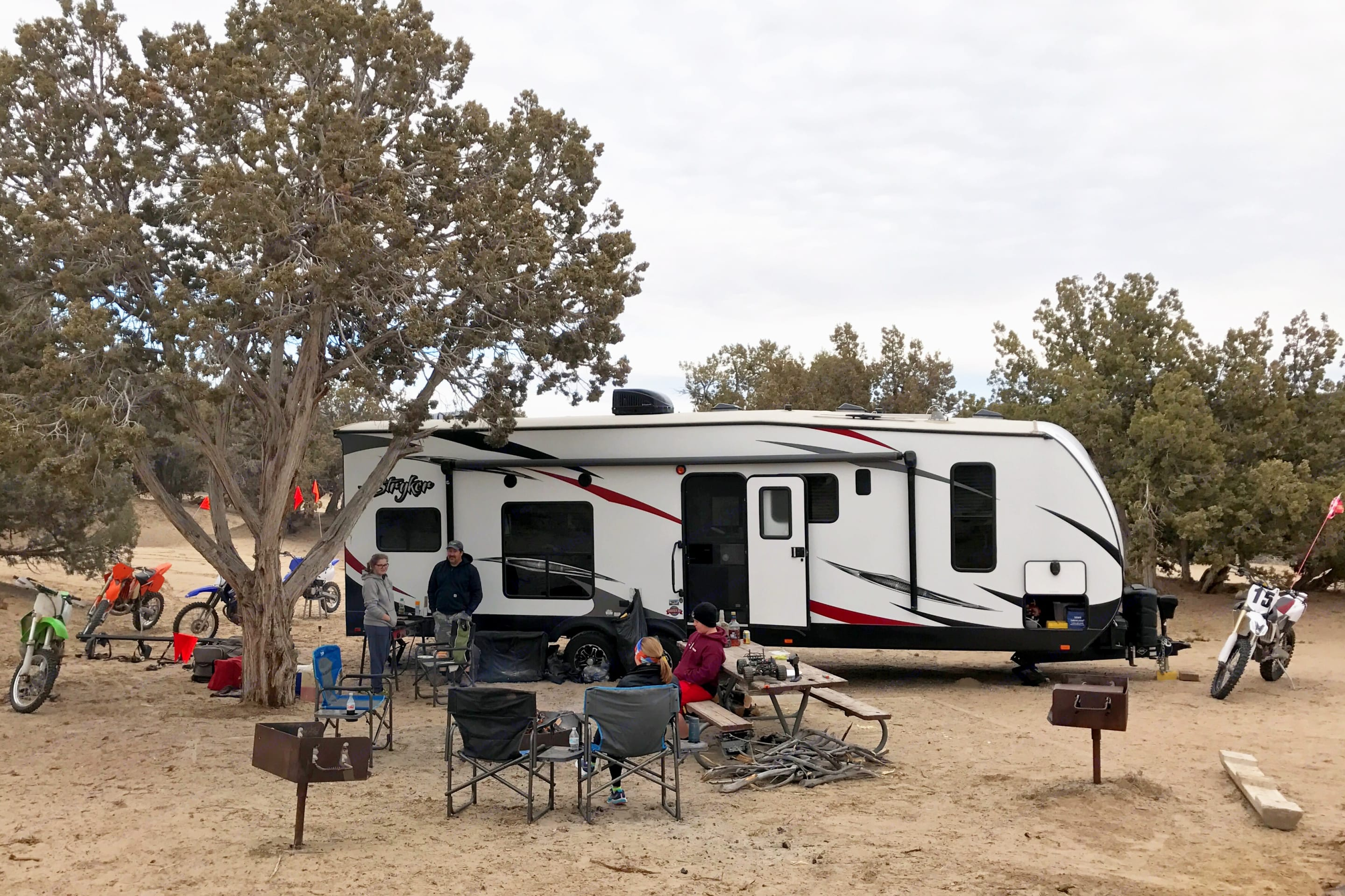 Head out to Little Sahara for some fun in the dunes. Cruiser Rv Corp Stryker 2016