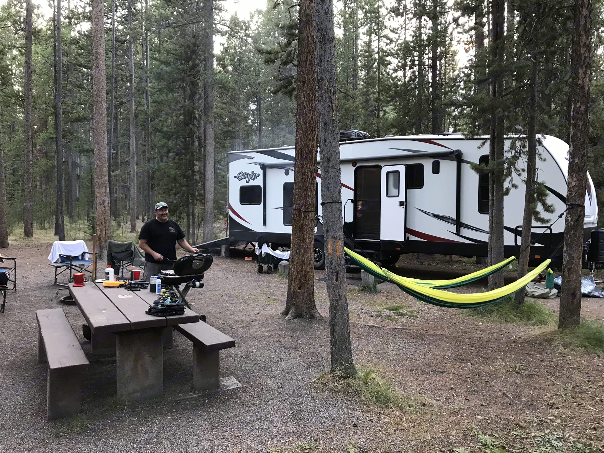 Find a state campground and enjoy rough camping. Cruiser Rv Corp Stryker 2016