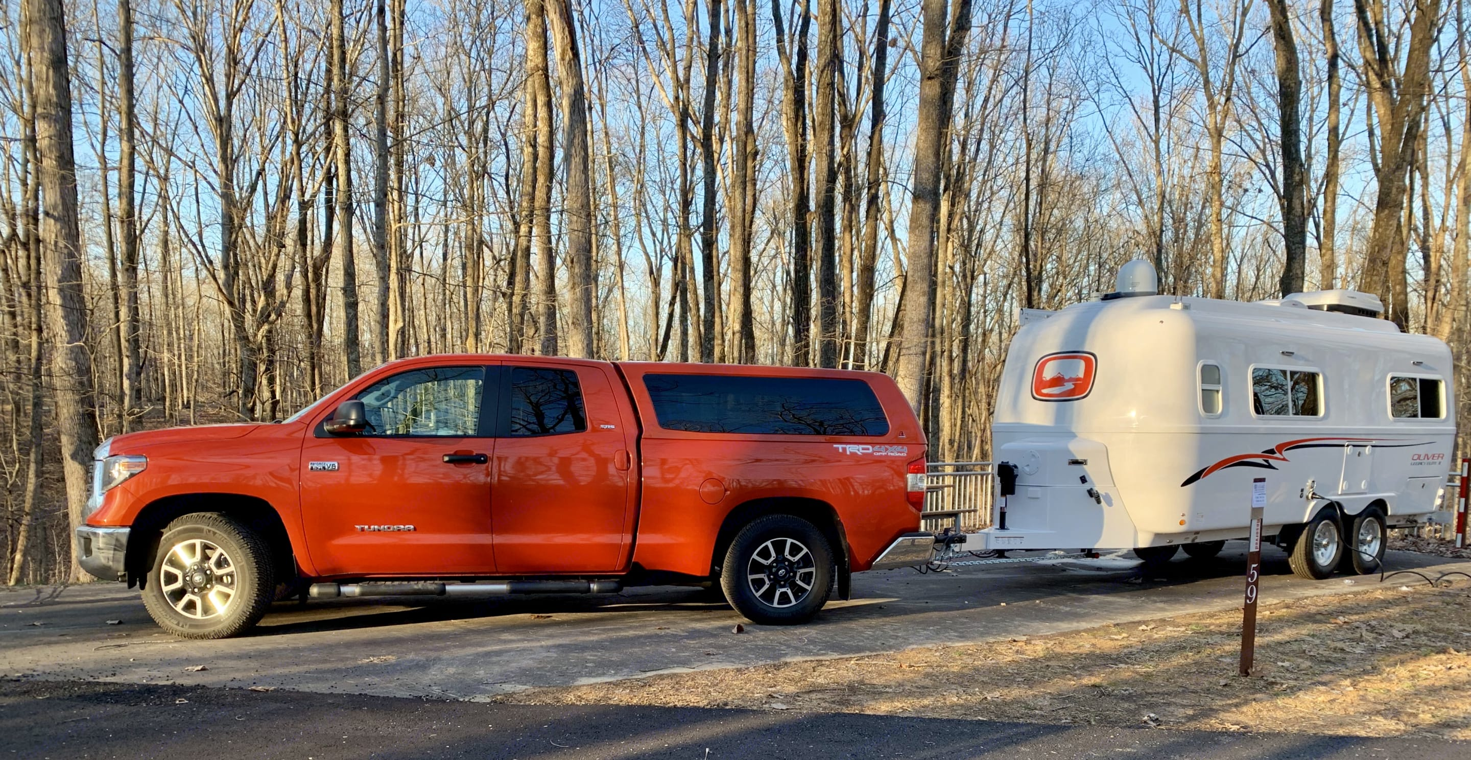 Tow weight pictured here is 6,000 lbs. Maximum capacity is 7,000 pounds. Toyota Tundra is the tow vehicle here.. Other Other 2019