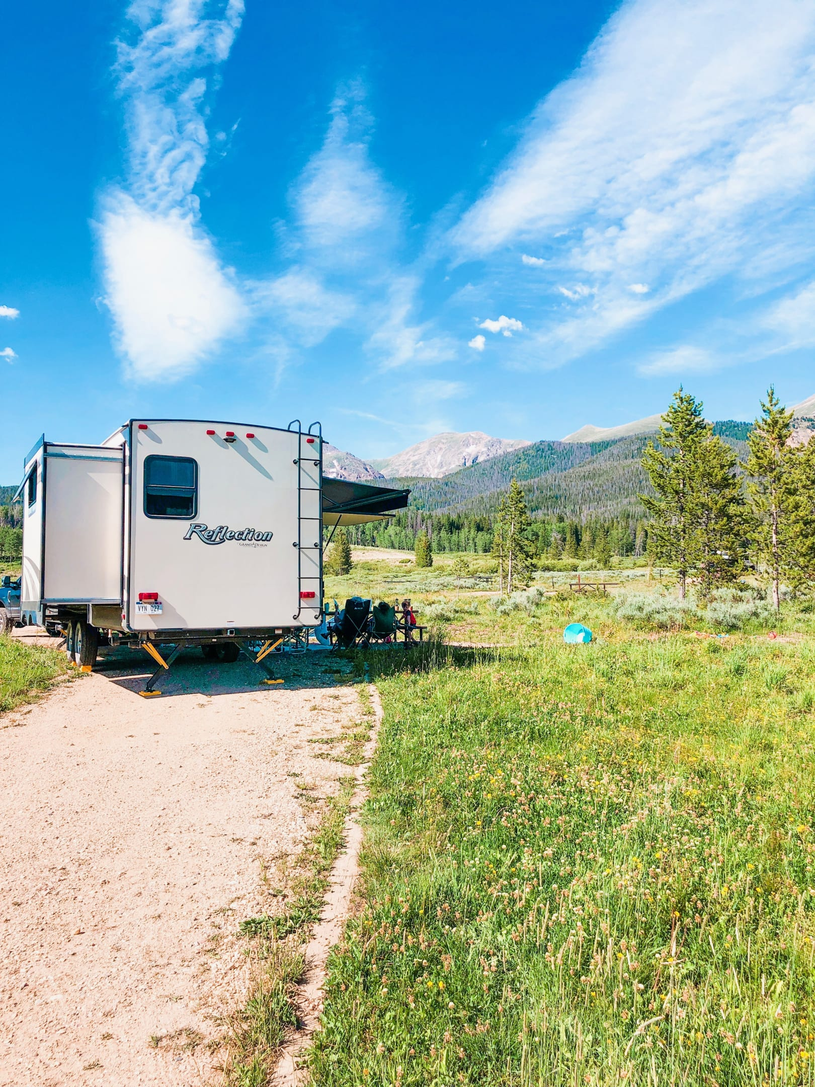 Camping in Colorado.. Grand Design Reflection 2019