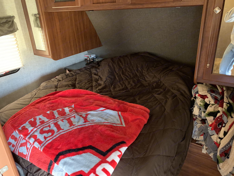 Master Bedroom. Heartland Wilderness 2016