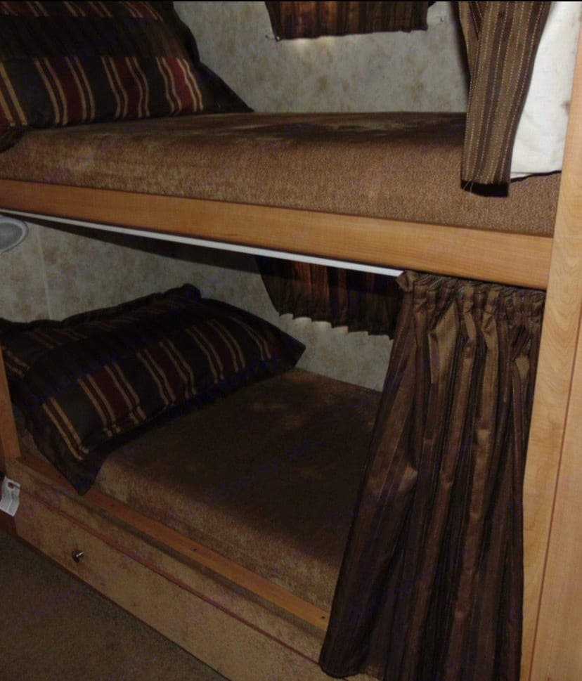 This two beds have their own TV W/DVD. Winnebago Access 2010