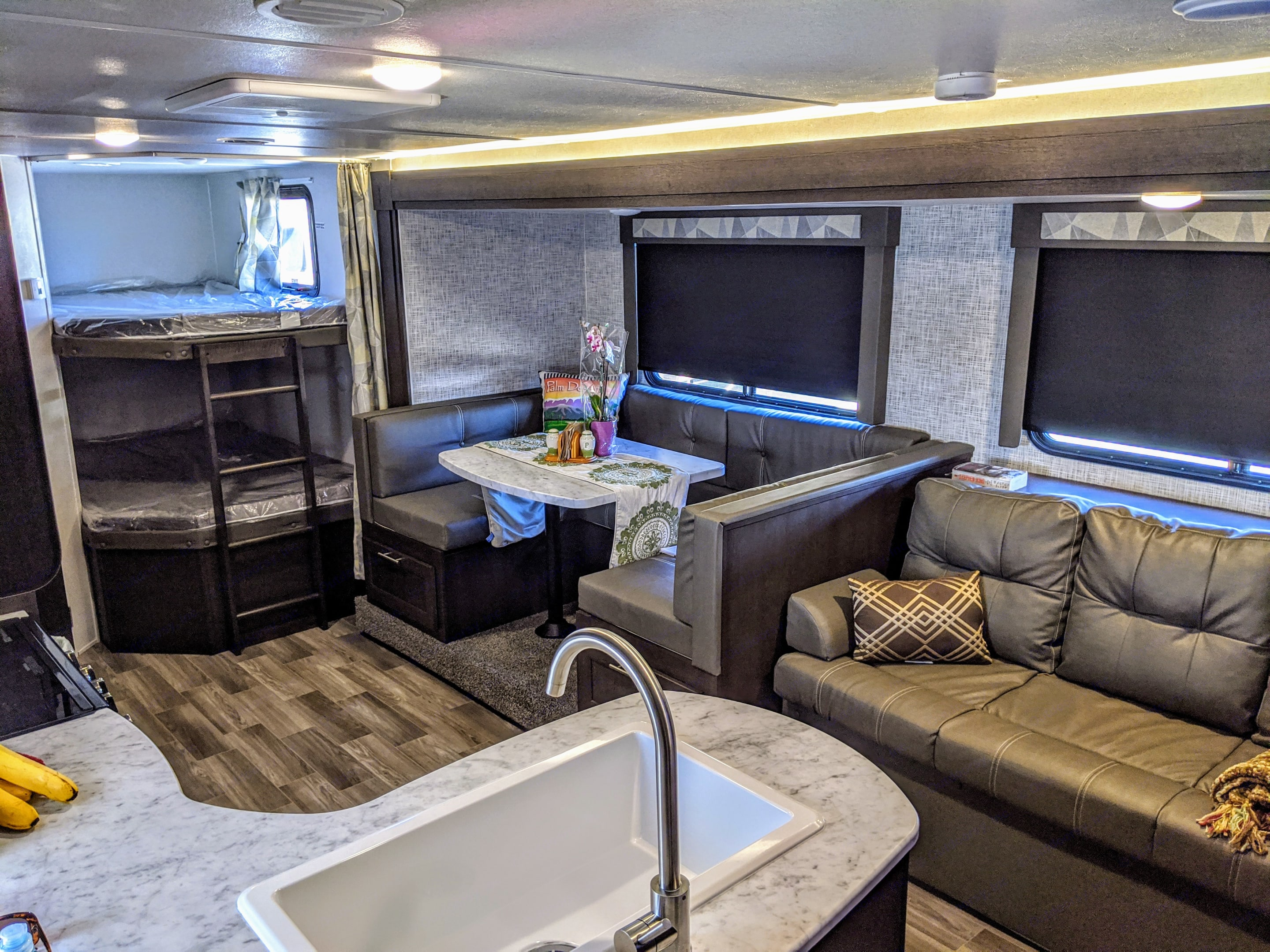 So much room...and double bunk beds.. Forest River Wildwood X-Lite 2020