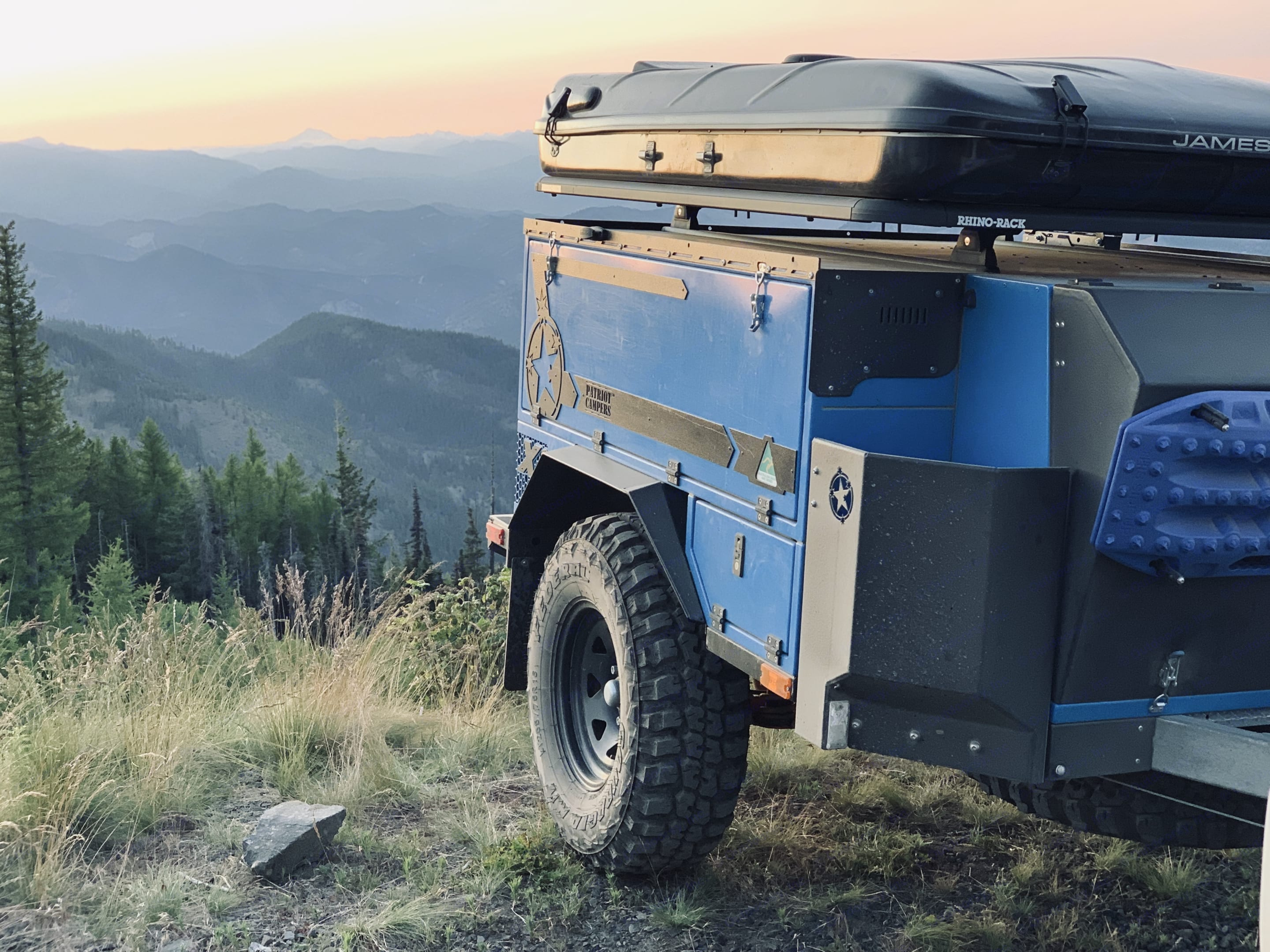 setup the tent with a view. Patriot Campers X2 2018