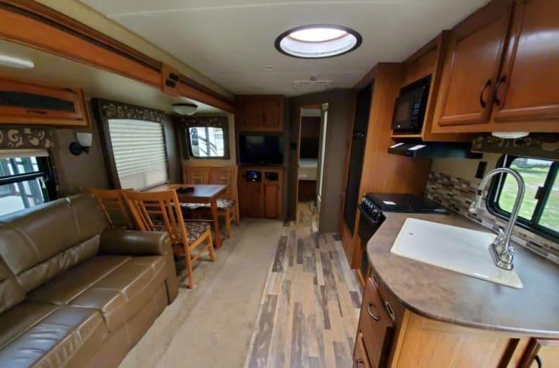 Rear living area. Starcraft Autumn Ridge 2015