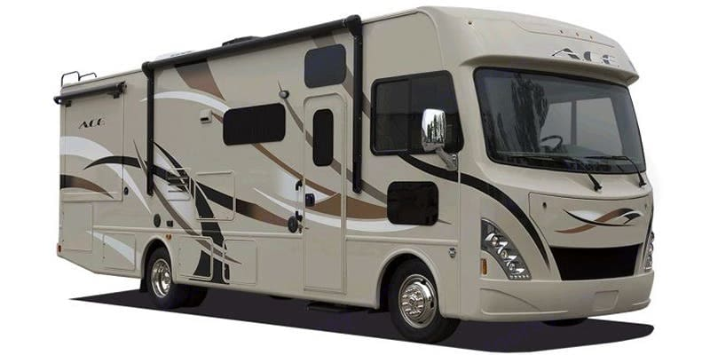 This is a stock phone of my RV. You can checkout the video.. Thor Motor Coach A.C.E 2018