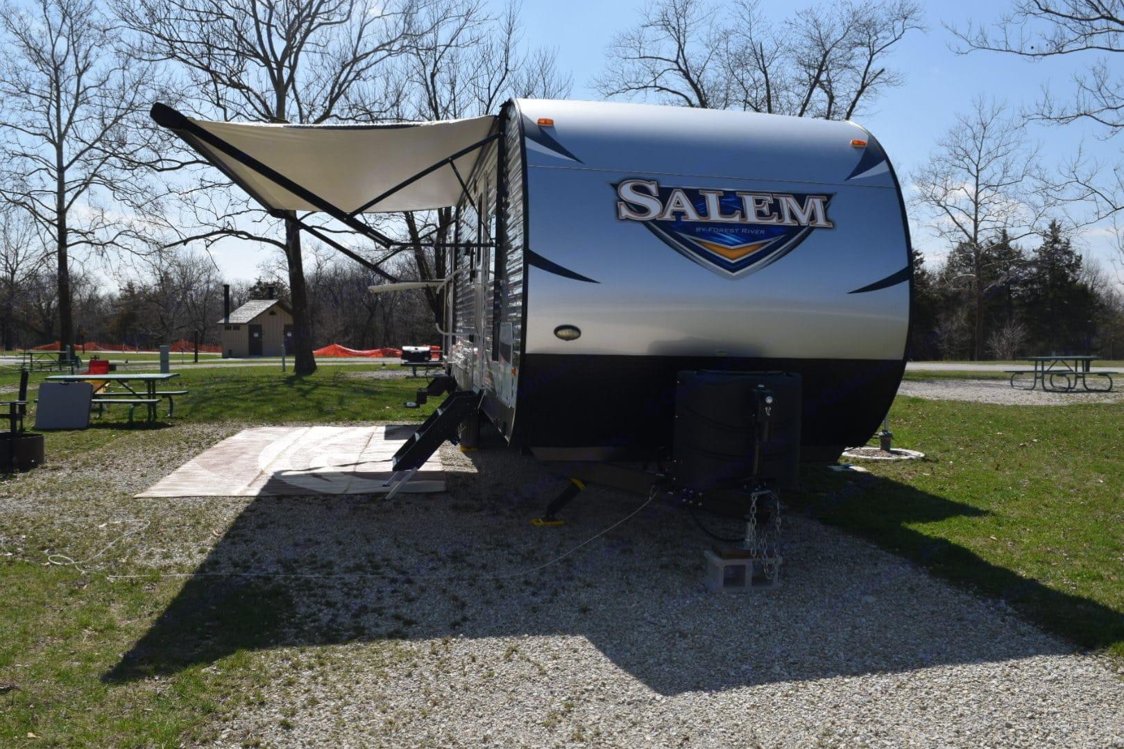 Front of the camper.. Forest River Salem 2018