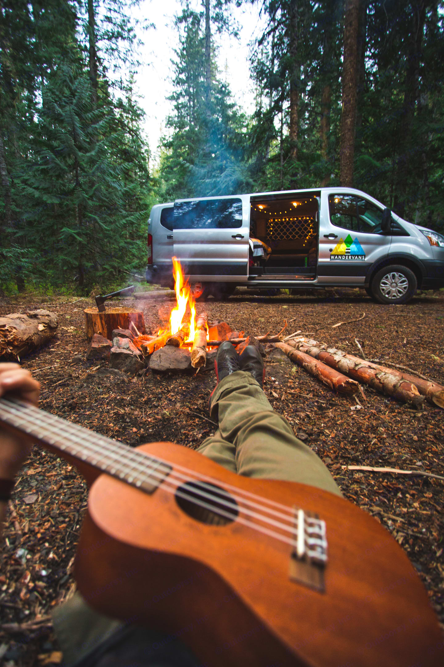 Ready or Adventure. Ford Transit 2015