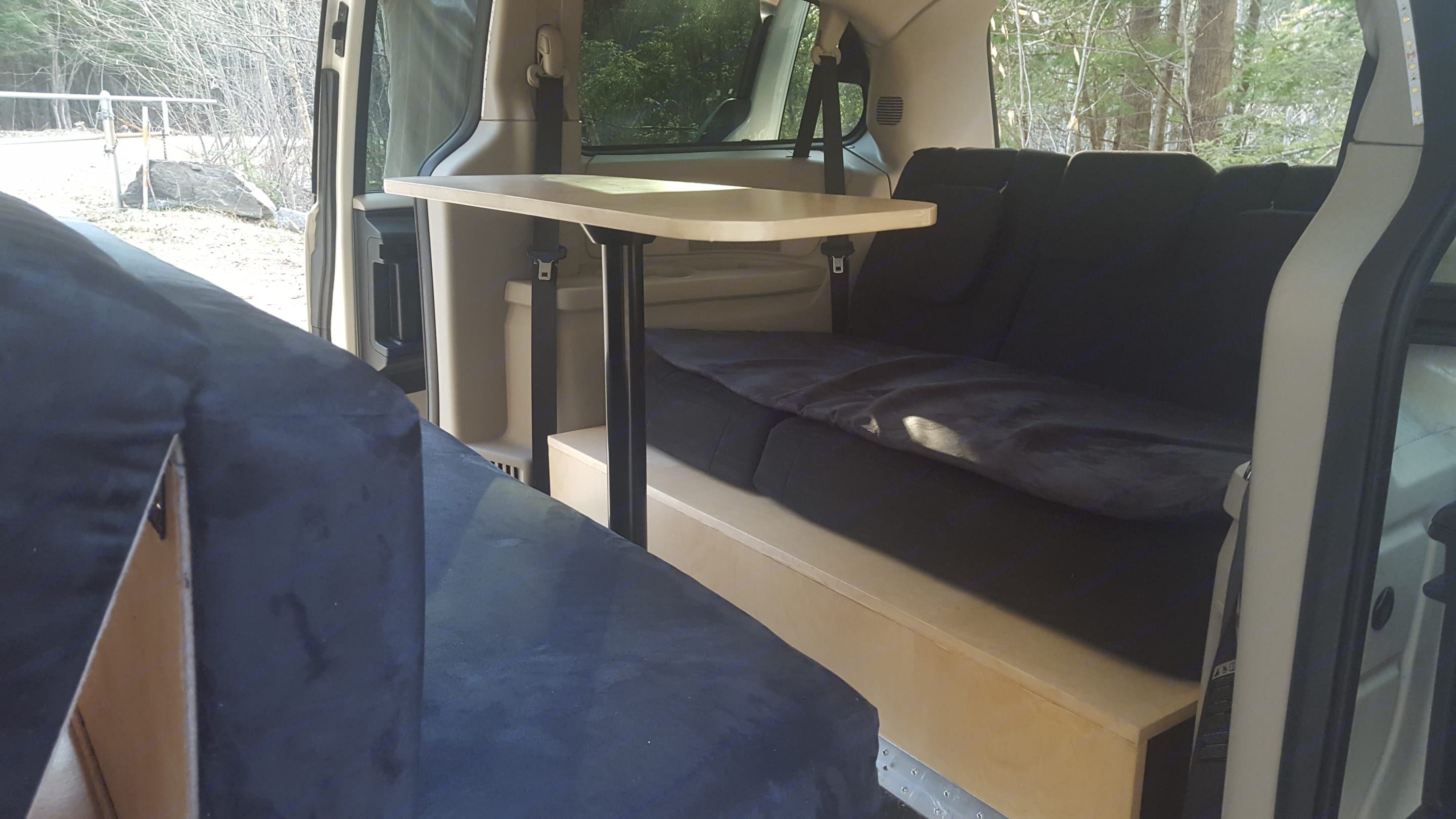 Your four person dinette table for work or dining.. Dodge Caravan 2012