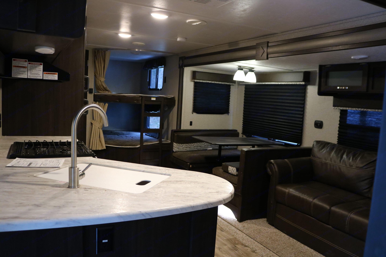 Main Living space very spacious.. Keystone Springdale 2019
