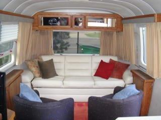 Living Room. Airstream Excella 1996