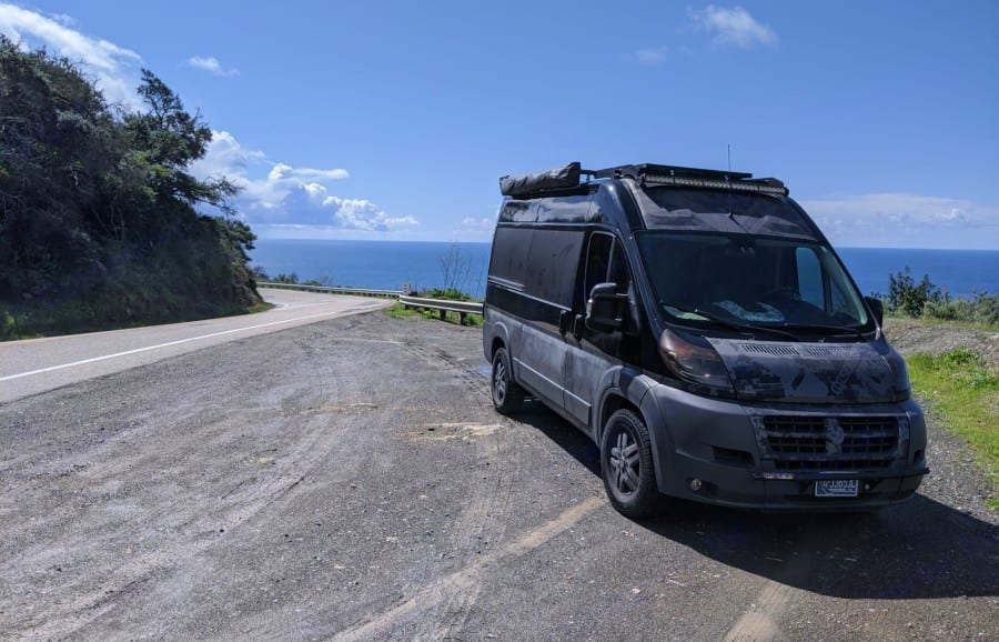 Sea to summit exploration. Ram Promaster Outside Van 2014
