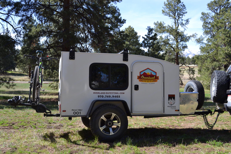 TheHikerMidmik-Rangeisanawesomeupgradeforyournextcarjo-campingadventure!Secure,capable,andeasytotow!. HikerTrailer Mid-Range5x8 2019