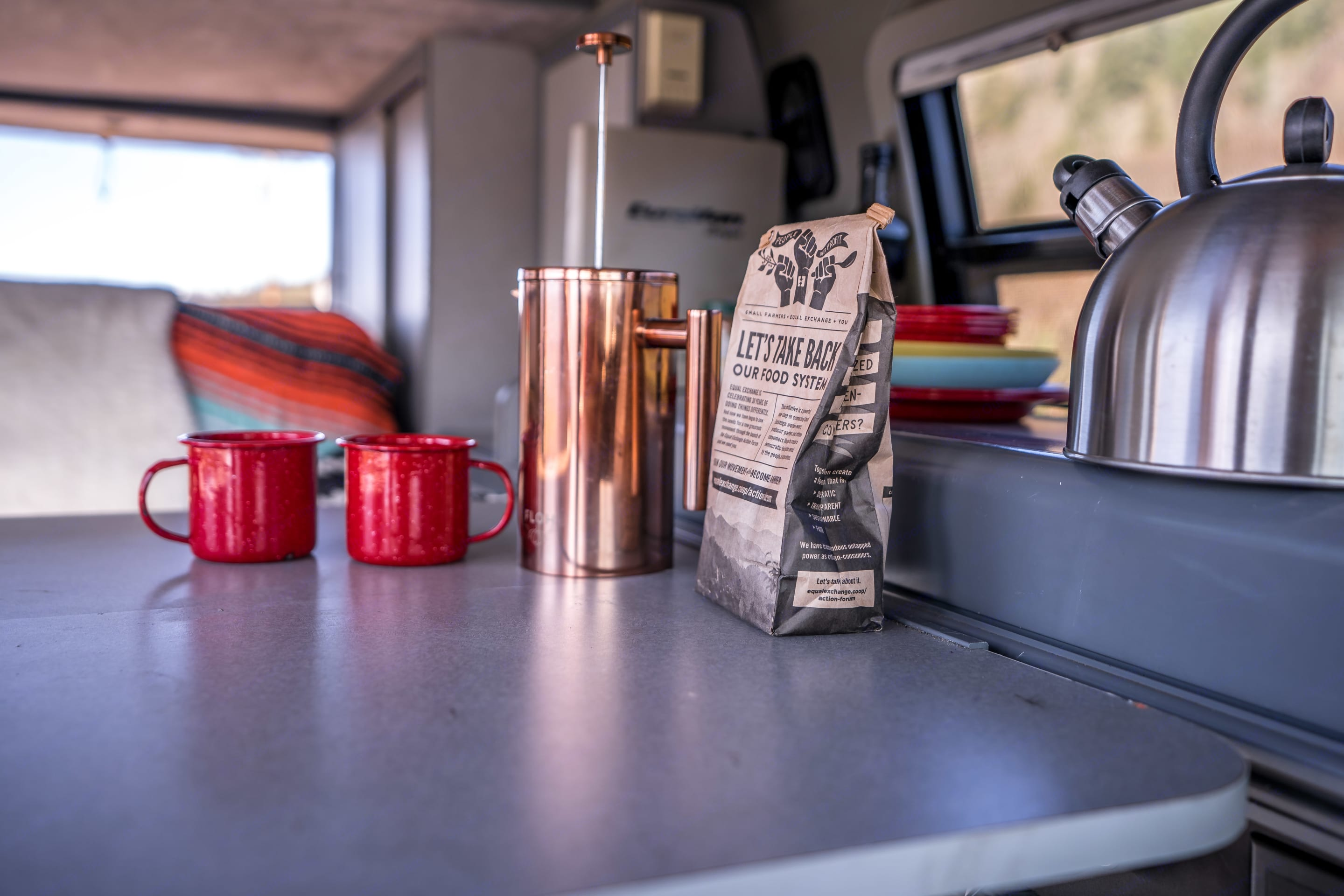 Local coffee included with this rental.. Volkswagen Eurovan Camper 1995