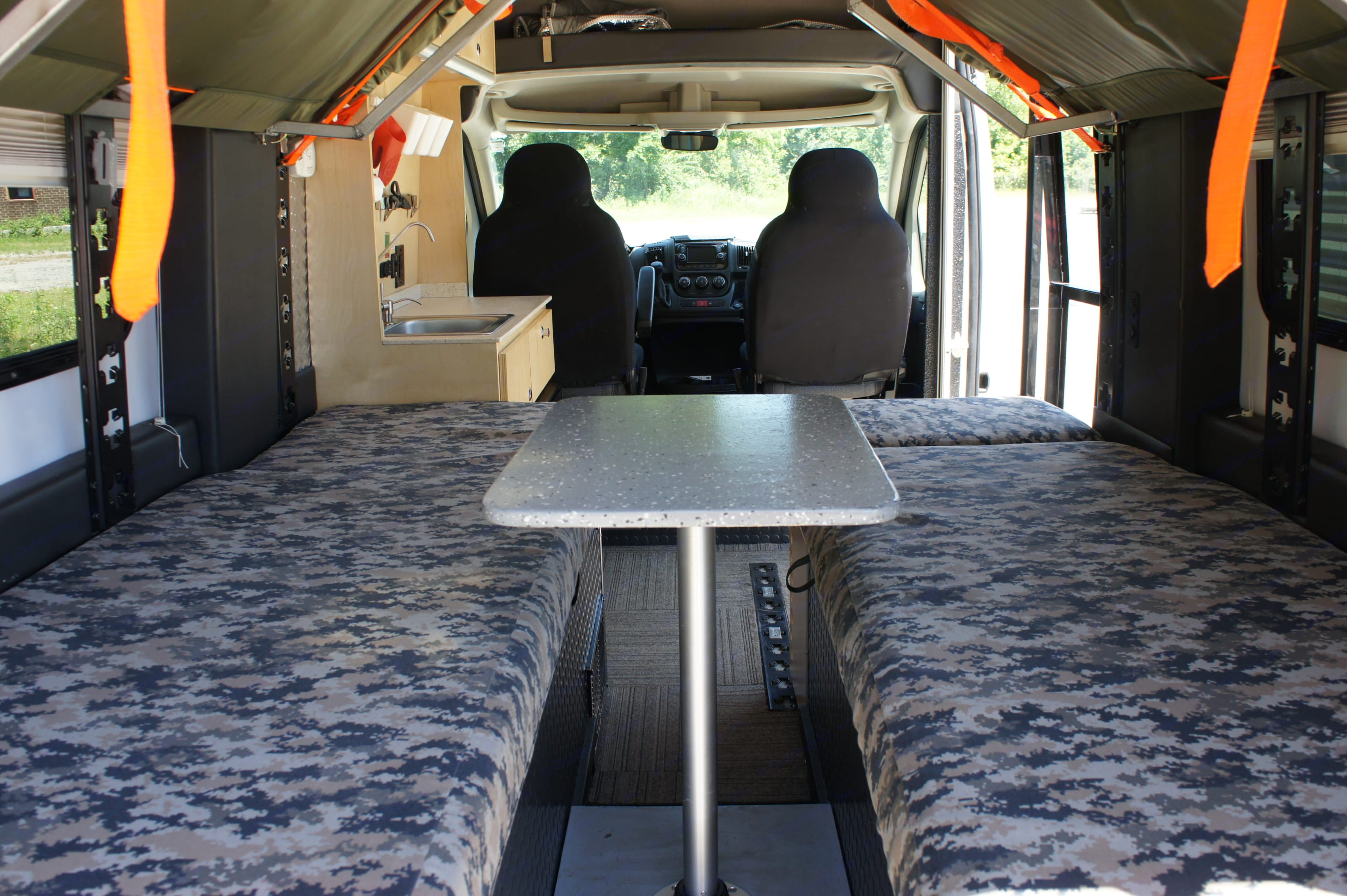One of Many Configurations. Dodge Promaster 1500 2016