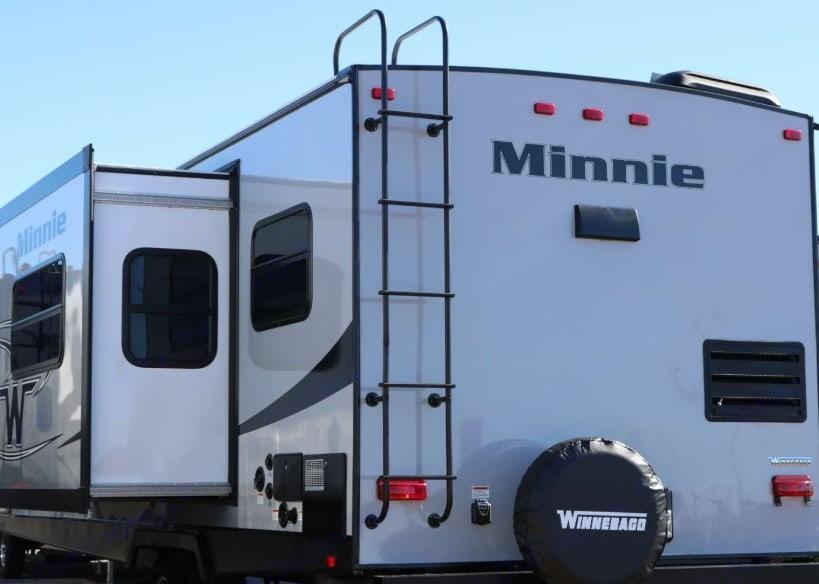 Back view. Winnebago Minnie 2019