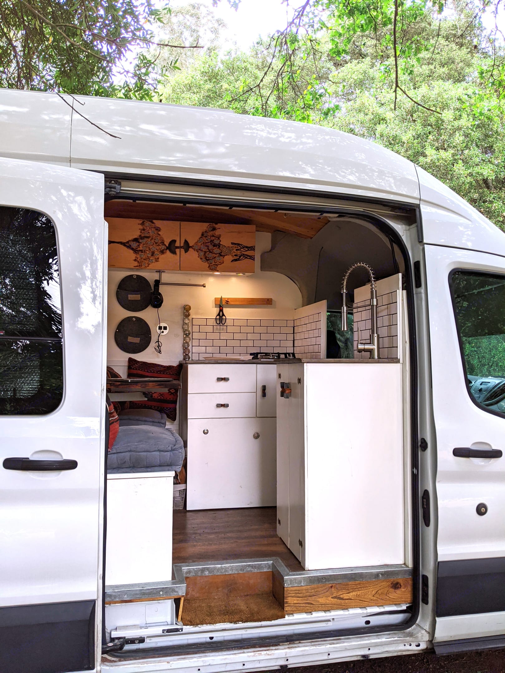 interior living area. Ford Transit - High Roof 2015