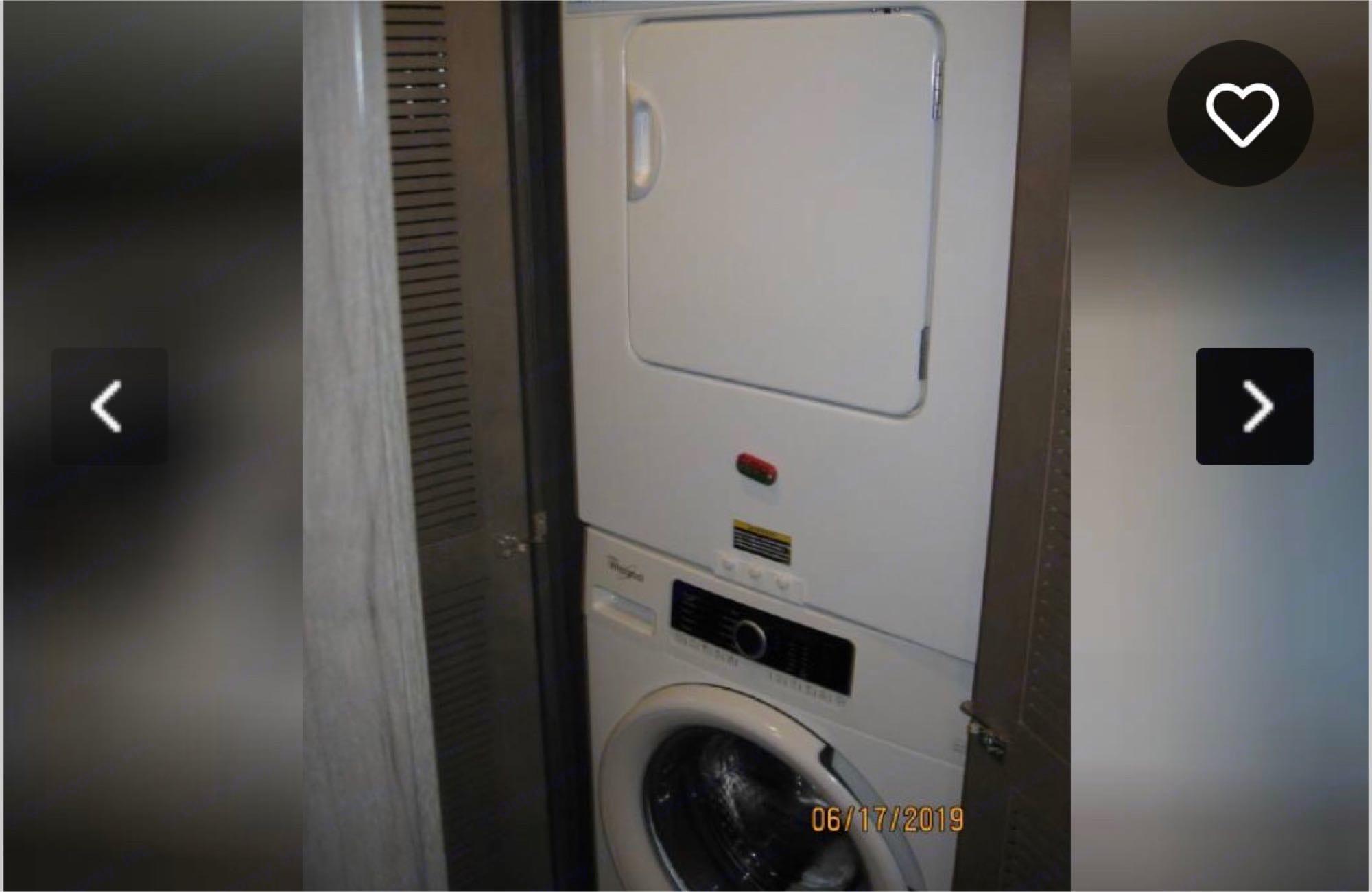 Laundry, Washer & Dryer. Winnebago Forza 2019