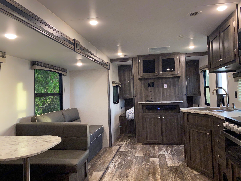 Spacious Interior - TV Included but not pictured. Starcraft Autumn Ridge 2020