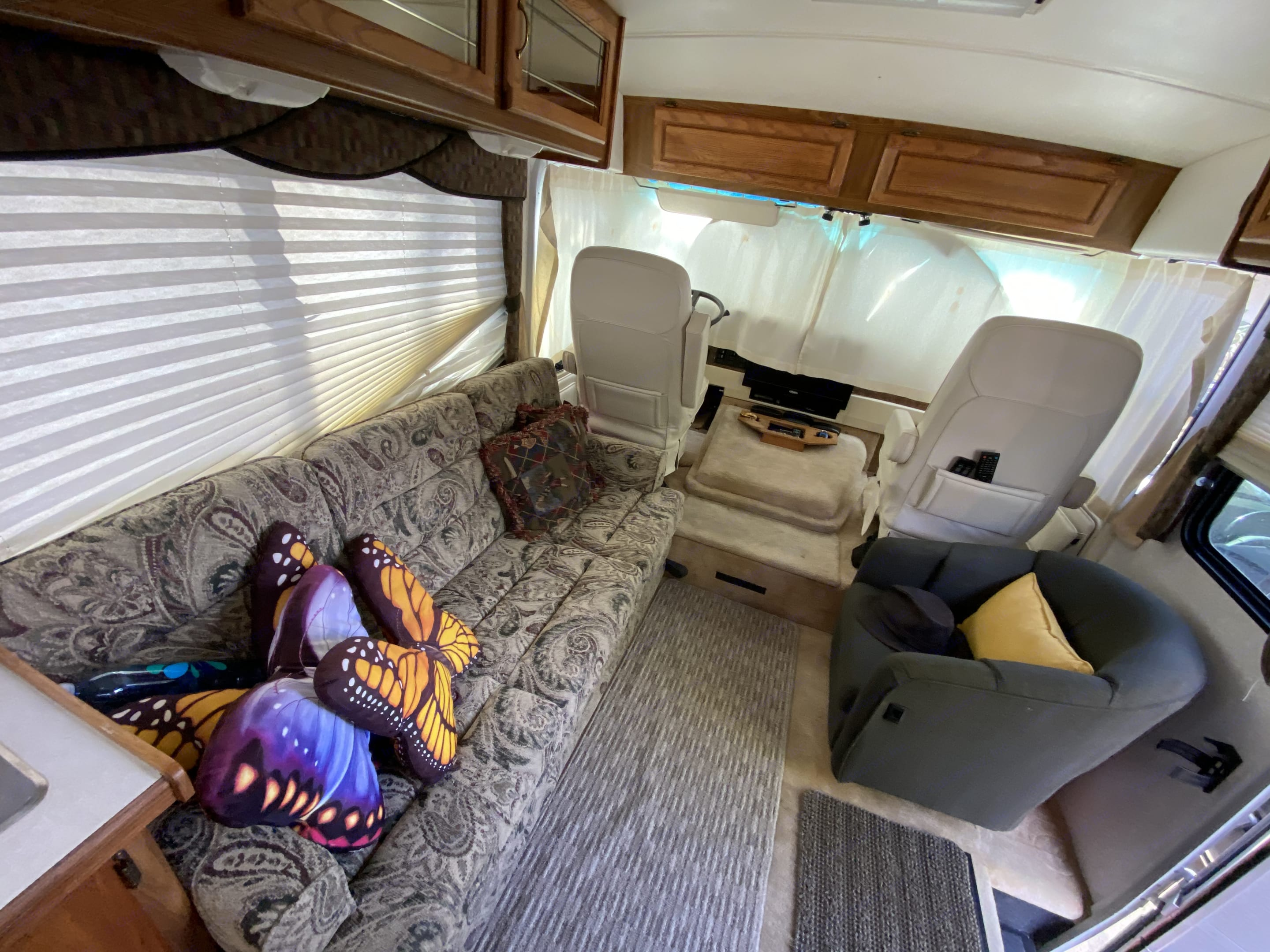 The Couch. Airstream Land Yacht 1997