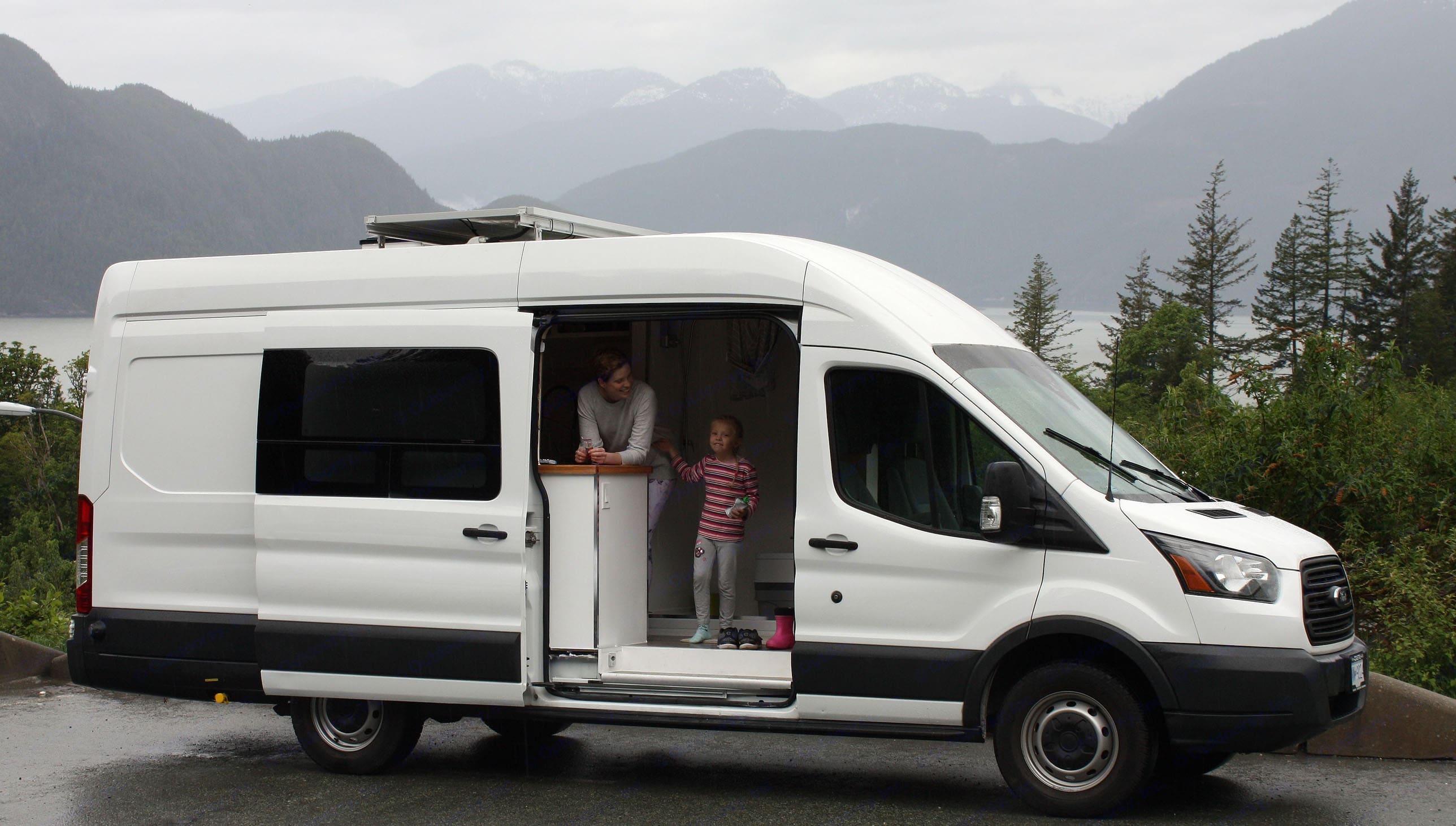 """""""Trudie"""". Ford Transit Custom Campervan Conversion 2015"""
