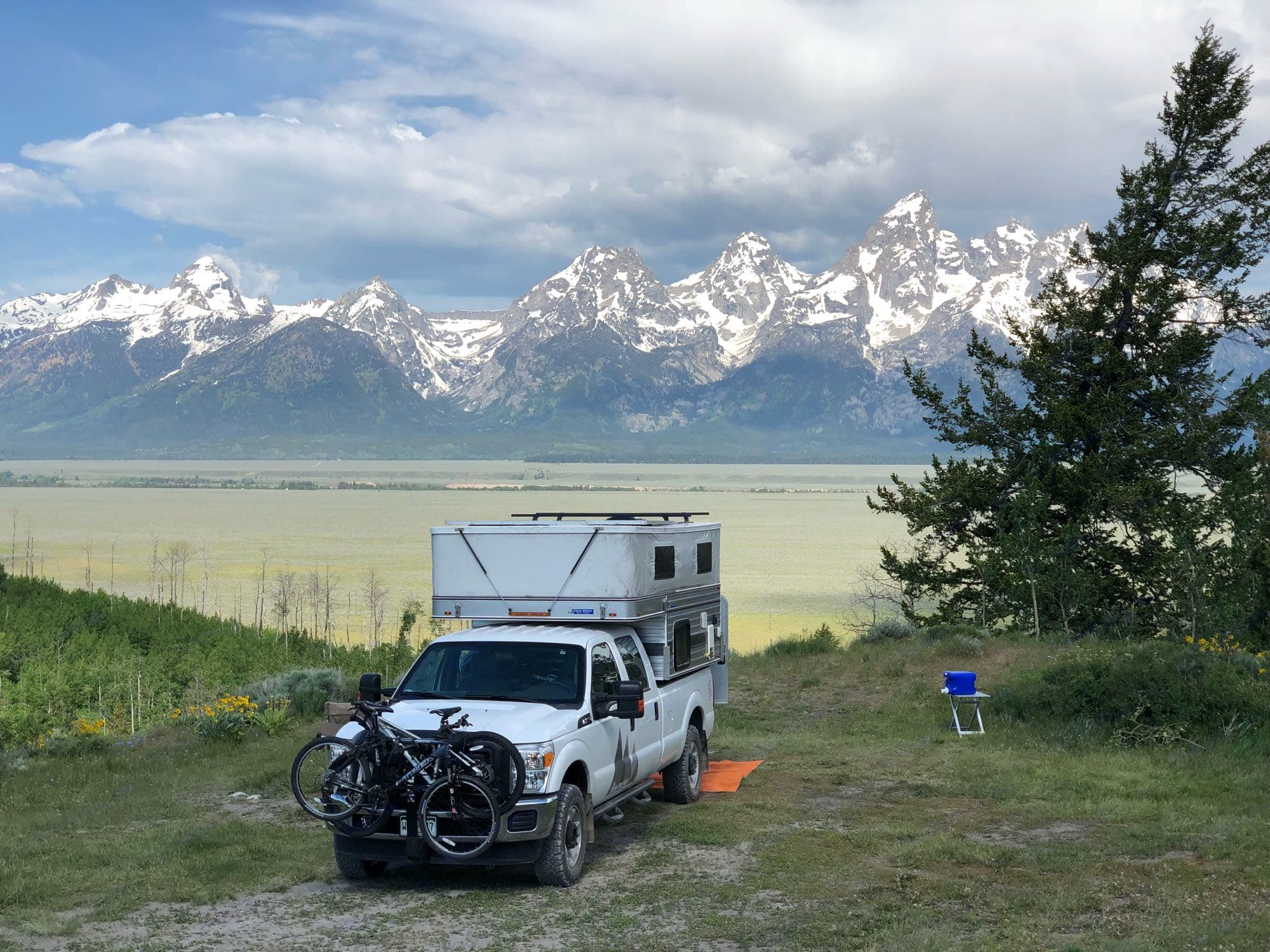 Grand Teton National Forest.. Four Wheel Campers Grandby 2015