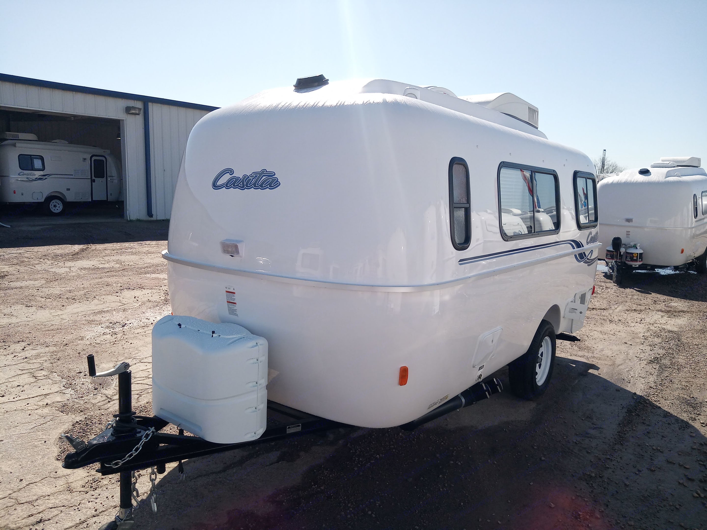 Fresh from the factory. Casita 17' Spirit Deluxe 2020