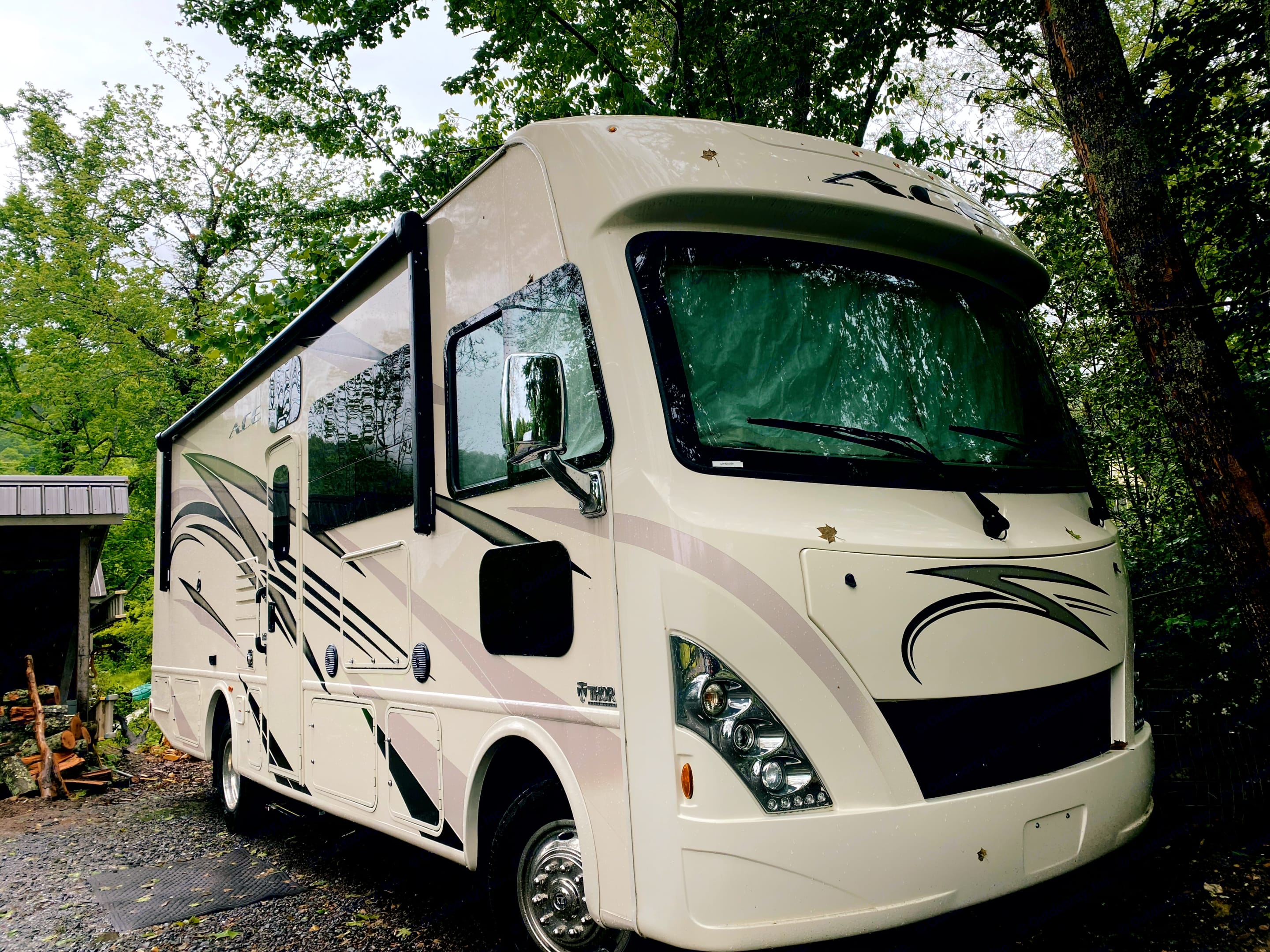 WALDO is the perfect vehicle for an unforgettable family vacation.  If you are at a National Park or a truck stop-you are at home!. Thor Motor Coach A.C.E 2018